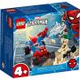 LEGO 76172 Spider-Man en Sandman duel